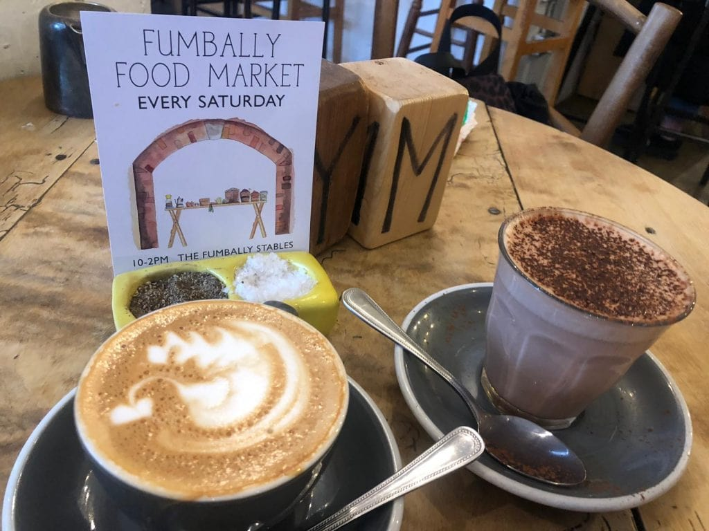 Fumbally Flat White Cappuccino