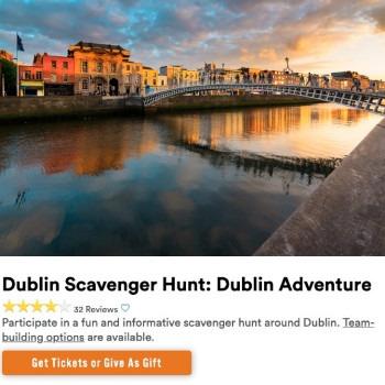 things to do in dublin scavenger hunt